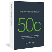 Sage 50c Accounts Standard Box - 12 Month Subscription