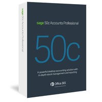 Sage 50c Accounts Professional Box - 12 Month Subscription