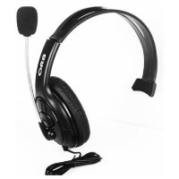 ORB Elite Headset - Black with 2.5mm jadapter compatible with Cisco IP phones & Xbox
