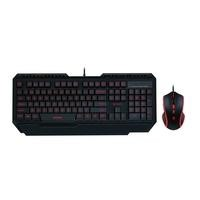 VPRO V100 Gaming Backlit Keyboard and Mouse Set Black UK Layout