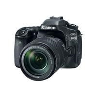 "Canon EOS 80D Digital SLR Camera With 18-135mm Lens HD 1080p 24.2MP Wi-Fi NFC 3"" Touch Screen"