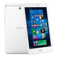 "Refurbished Acer Iconia 8"" Tablet 1GB 32GB Windows 10 in White"