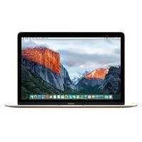 New Apple MacBook Intel Core M3 1.1GHz 256GB 12 Inch OS X 10.10 Yosemite Laptop - Gold