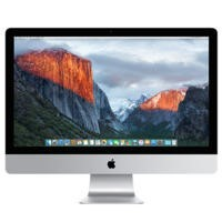 "Refurbished Apple iMac Retina 5K 27"" Intel Core i5 3.2GHz 8GB 1TB Fusion Drive OS X El Capitan AMD Radeon R9 M390 2GB Graphics  All in One PC - 2015"