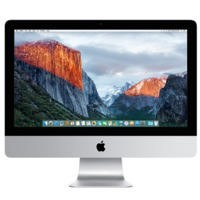 "Refurbished Apple iMac 21.5"" Intel Core i5 1.6GHz 8GB 1TB OS X El Capitan All in One in Aluminium-2015"