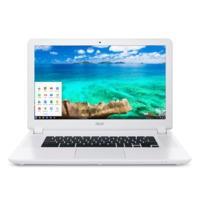 "Refurbished Acer CB5-571 15.6"" Intel Celeron 3205U 2GB 32GB Chromebook in White"