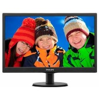Refurbished Philips 193V5LSB2/10 HD Ready 18.5 Inch Monitor