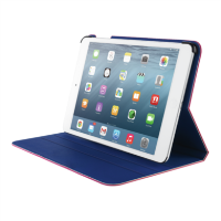 Trust Aeroo Ultrathin Folio Stand For IPad Air 2 - Pink/Blue