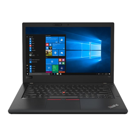 A1/20L5000AUK Refurbished Lenovo ThinkPad T480 Core i7-8550U 16GB 512GB SSD 14 Inch Windows 10 Pro Laptop