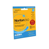 Norton 360 Deluxe Internet Security & VPN - 3 Devices - 12 Month Subscription