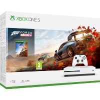 Xbox One S 1TB Console with Forza Horizon 4 - White