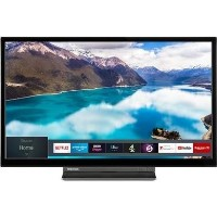 "Toshiba 24WD3A63DB 24"" HD Ready Smart LED TV and DVD Combi with Freeview Play"