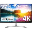 "27UK650-W LG 27UK650 27"" Class IPS 4K UHD HDMI Monitor with HDR 10"