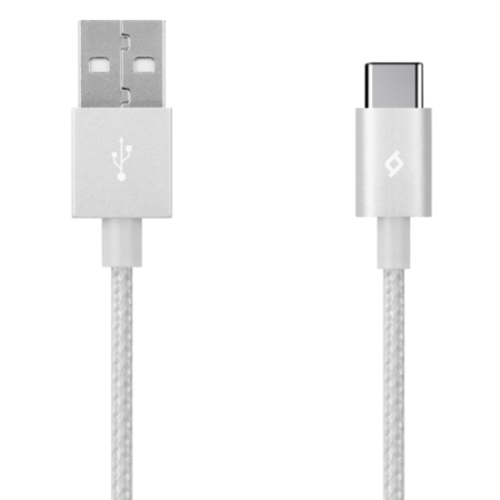 ttec AlumiCable USB Type-C Cable - White