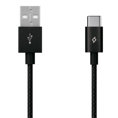 ttec AlumiCable USB Type-C Cable - Black