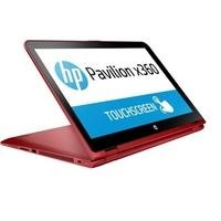"Refurbished HP Pavilion x360 15-bk060na 15.6"" Intel Pentium 4405U 2.1GHz 4GB 1TB Windows 10 Touchscreen Convertible Laptop in Red"
