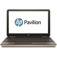 "Refurbished HP Pavilion 15-aw084sa 15.6"" AMD A9-9410 2.9GHz 8GB 1TB Windows 10 Laptop in Gold"