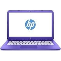 "Refurbished HP Stream 14-ax053sa 14"" Intel Celeron N3060 1.6GHz 4GB 32GB Windows 10 Laptop in Purple"