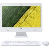 "Refurbished ACER Aspire C20-720 19.5"" Intel Celeron J3060 1.6GHz 4GB 1TB Windows 10 All In One PC in White"