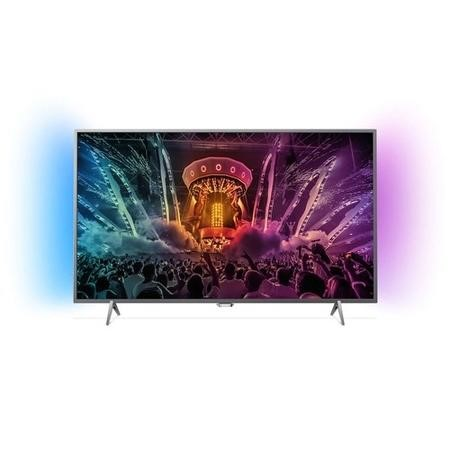 "GRADE A1 - Philips 49PUS6401 49"" 4K Ultra HD HDR Ambilight LED Android Smart TV with 1 Year Warranty"