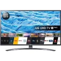 "LG 49UM7400PLB 49"" 4K Ultra HD Smart HDR LED TV with Freeview HD and Freesat"