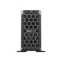 "dell EMC PowerEdge T440 - Server - tower - 5U - 2-way - 1 x Xeon Silver 4208 / 2.1 GHz - RAM 16 GB - SAS - hot-swap 3.5"" - SSD 480 GB - DVD-Writer - G200eR2 - GigE - no OS - monito"
