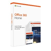 Microsoft Office 365 Home 2019 - 6 Users - 1 Year Subscription
