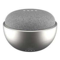 Ninety7 JOT Portable Battery Case for Google Home Mini - Silver