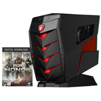 MSI Aegis X Core i7-6700K 16GB DDR4 2TB + 2x 128GB SSD GeForce GTX 1080 Water Cooled Windows 10 Gaming Desktop with Keyboard Mouse And Mafia 3 Game