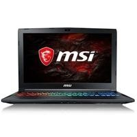 MSI GP62MVR 7RFX Core i7-7700HQ 8GB 1TB + 128GB SSD 15.6 Inch GeForce GTX 1060 3GB Windows 10 Gaming Laptop