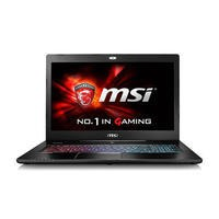 MSI GS72 6QE Core i7-6700HQ 16GB 1TB + 256GB SSD Nvidia Geforce GTX 970M 6GB 17.3 Inch FHD Windows 10 Gaming Laptop