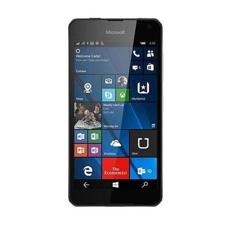 "A00026941 Microsoft Lumia 650 Black 5"" 16GB 4G Unlocked & SIM Free"