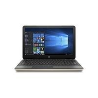 "Refurbished HP Pavilion 15-au179sa 15.6"" Intel Core i3-7100U 8GB 128GB SSD DVD-RW Windows 10 Laptop in Gold"