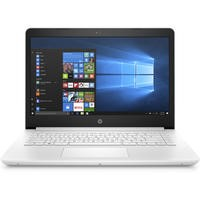Refurbished HP 14-bp056sa Intel Celeron N3060 4GB 64GB 14 Inch Windows 10 Laptop in Snow White