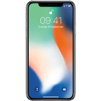 "Grade A Apple iPhone X Silver 5.8"" 64GB 4G Unlocked & SIM Free"