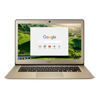 "Refurbished Acer 14 CB3-431 14"" Intel Celeron N3060 1.6GHz 2GB 32GB SSD Chrome OS Chromebook in Gold"