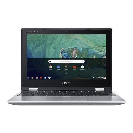 Refurbished Acer Spin 11 Intel Celeron N3450 4GB 32GB 11.6 Inch 2 in 1 Chromebook in Silver