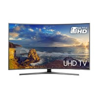"GRADE A1 - Samsung UE65MU6670 65"" 4K Ultra HD HDR Curved LED Smart TV with Freeview HD - Wall Mount Only No Stand Provided"