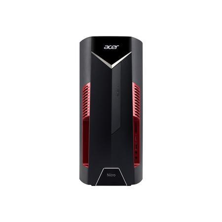 Refurbished Acer Nitro N50-600 Core i5-8400 8GB 16GB Optane 1TB DVDRW GTX 1050 Windows 10 Gaming Desktop PC