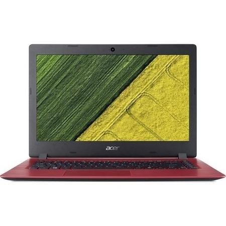 Refurbished Acer Aspire 1 A114-31 Intel Celeron N3350 4GB 64GB 14 Inch Windows 10 Laptop in Red