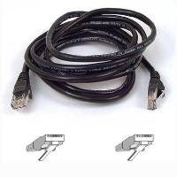 Belkin RJ45 CAT-5e Patch Cable - 3 metre 9.8 foot - Snagless Molded - Black