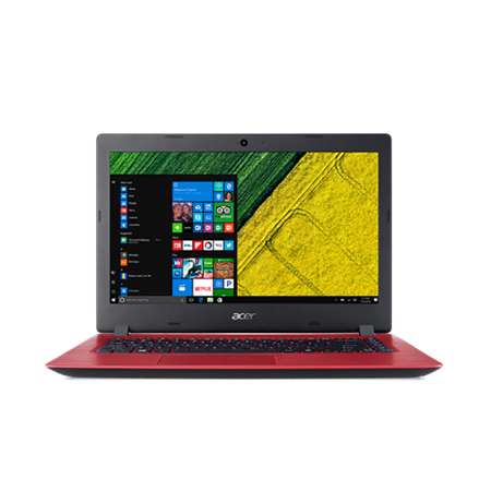 A3/NX.GS5EK.016 Refurbished Acer Aspire A315-51-32Y4 Core i3-6006U 4GB 1TB 15.6 Inch Windows 10 Laptop in Red