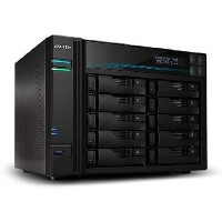 Asustor Lockerstor 10 - 10 Bay 8GB Diskless Desktop NAS