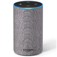 Amazon Echo 2nd Gen Smart Hub - Heather Grey