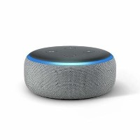 Amazon Echo Dot 3rd Gen - Smart speaker with Alexa - Heather Grey Fabric