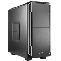 Be Quiet! Silent Base 600 Gaming Case ATX No PSU Tool-less 2 x Pure Wings 2 Fans Silver