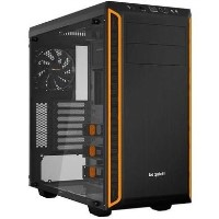 Be Quiet! Pure Base 600 Gaming Case with Window ATX No PSU 2 x Pure Wings 2 Fans Orange
