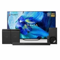 "Sony BRAVIA 65"" 4K Ultra HD Android Smart OLED TV with Soundbar Wireless Subwoofer & 2 Wireless Speakers"