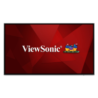 "ViewSonic CDE7520 75"" 4K Ultra HD LED Large Format Display"