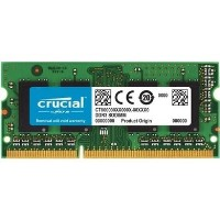 Crucial 8GB DDR3L 1600MHz Non-ECC SO-DIMM 1 x 8GB Laptop Memory